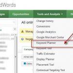 google keyword planner tool tutorial